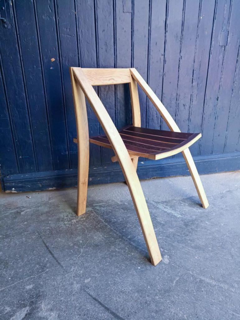 fauteuil douelle tonneau